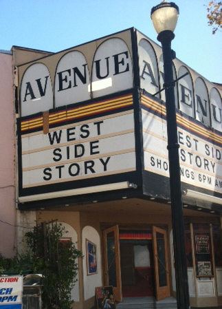 The Avenue movie theater, opened in 1922 and located on Downey Avenue in the city of Downey, Calif. remains the last single movie theater left in the city. The theater remains closed but preservationists and residents in the community would like to see it reopen and have began an online petition urging the city to reopen it. (Photo by Alicia Edquist)